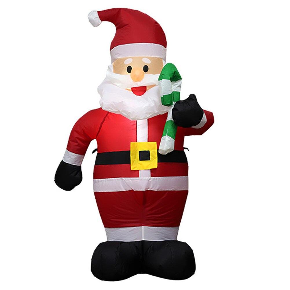Новый год 1,2 м надувные строительные надувные рождественские украшения для сада надувные игрушки уличные игрушки украшение для дома