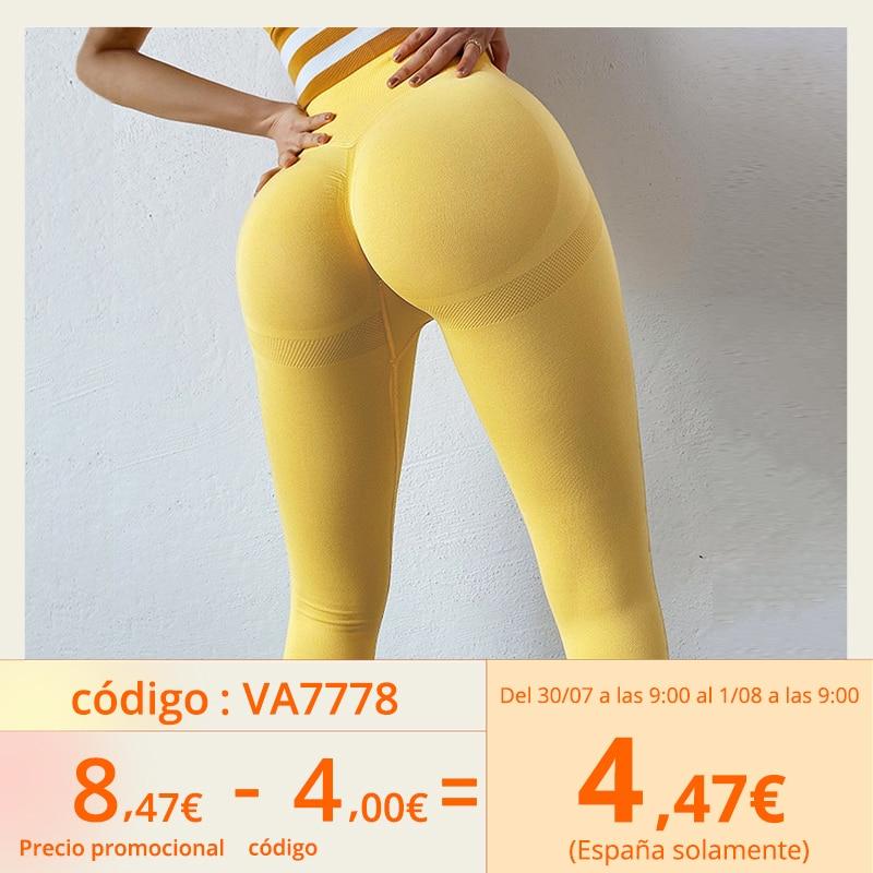 Women Leggings Bubble Butt Push Up Fitness Legging Slim High Waist Leggins Mujer Seamless Fitness Legging