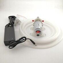 DC 12V 24v 15W lebensmittel grade Membran Wasserpumpe selbstansaugende Booster Pumpe mit Automatische Schalter 90L/H für rotwein milch