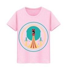 Junge Mädchen T-shirt Elon Moschus schwere falcon tees Kinder Mars starman auto Teeshirts Kid T-shirt SpaceX rakete Tesla Roadster T hemd