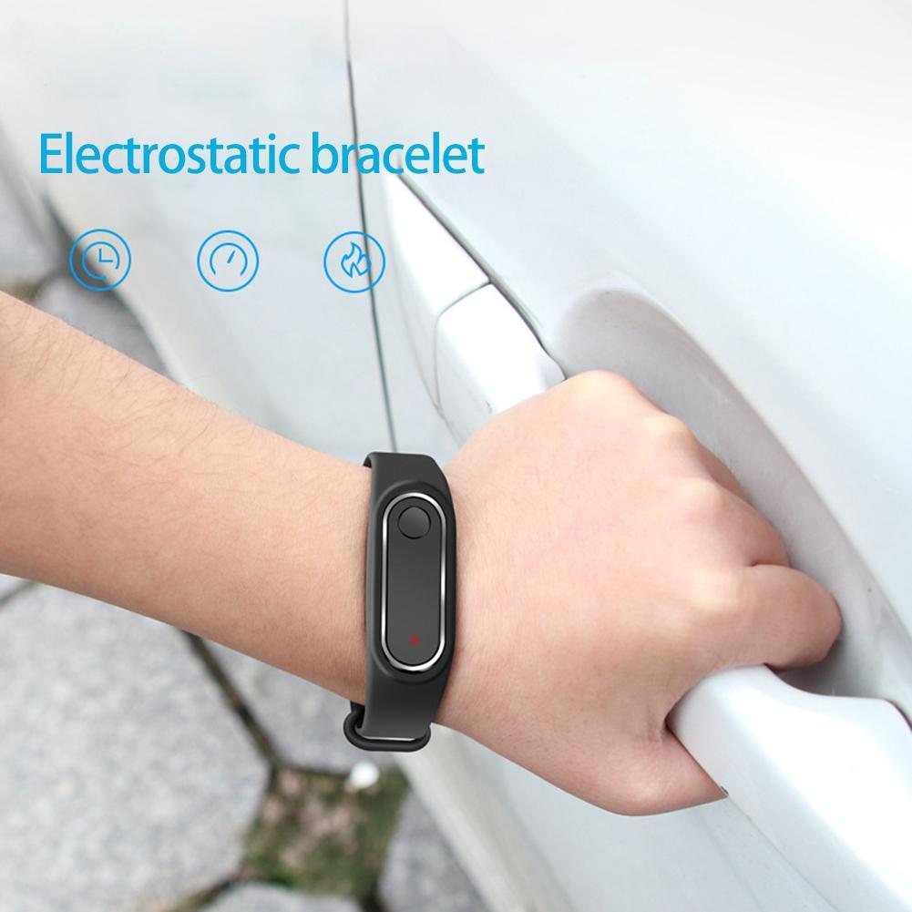 Carro anti-estática pulseira remover eliminação automática estática eletricidade ZD-02 pulseira estática