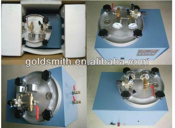 Jewelry Machine   Digital Vacuum Wax Injector with control box clamp   Digital Vacuum Wax Injecting Machine jewelry wax injector