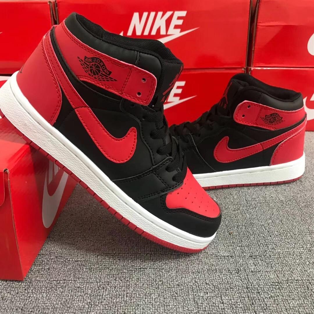 Nike air jordan 1 retro high chicago noir, chaussures de sport chaussures pour hommes, baskets originales, confortables