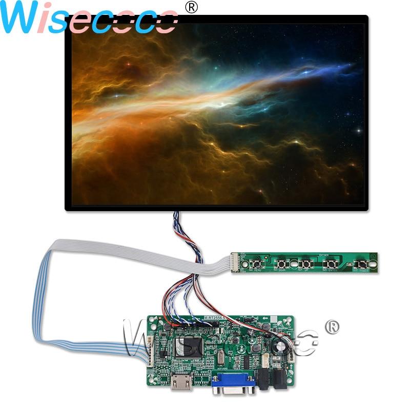 10,1 pulgadas 1920*1200 AHVA IPS panel LCD de 40 pines eDP (2 carriles) ¡+ HDMI VGA LVDS controlador de Audio B101UAN01! A para almohadilla y tableta