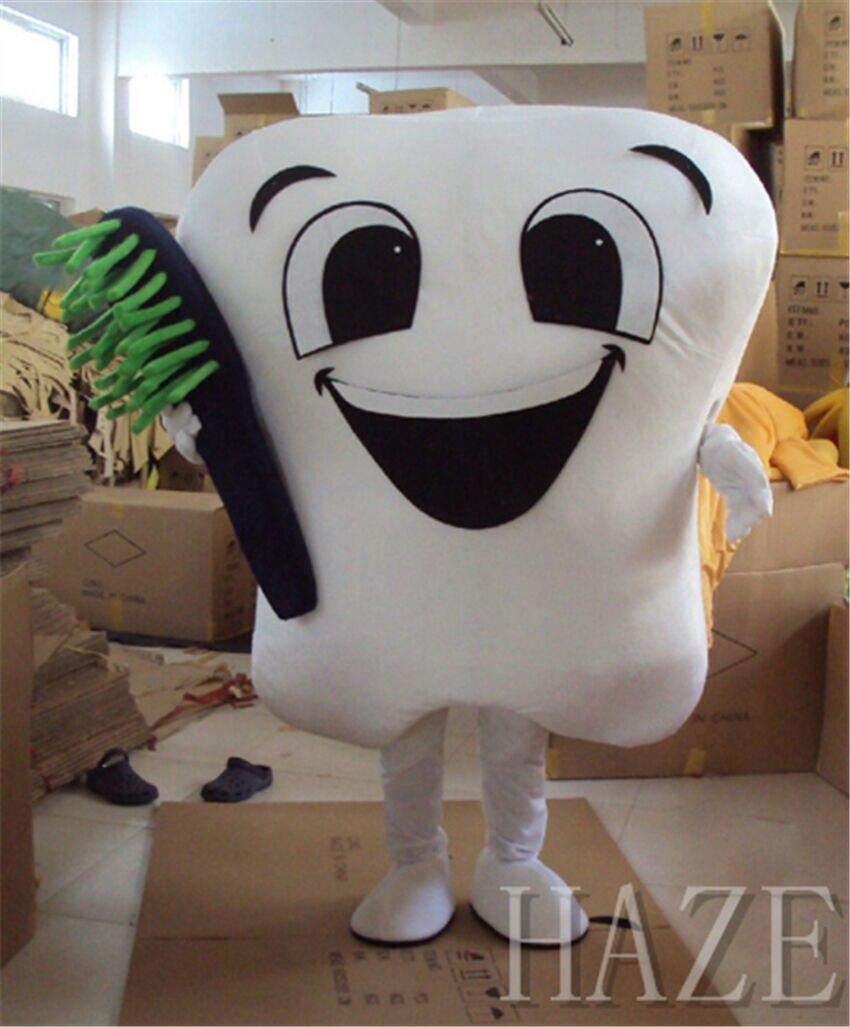 Promoción mascota dientes Cosplay disfraz cuidado Dental adulto tamaño Facny vestido disfraz de Halloween