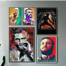 Affiche et imprime Conor Mcgregor Ufc Sport boxe Super Star moderne peintures toile mur photos pour salon décor à la maison