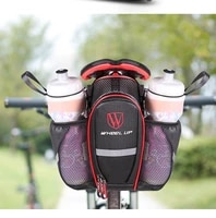 wheel up bicycle saddle bag waterproof bike seatpost bag cycling equipment mountain bike accessories bottle pouch holders