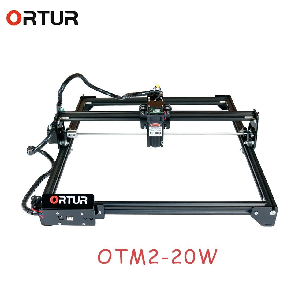 ORTUR-Máquina cortadora de grabado láser Master 2, con placa base de 32...