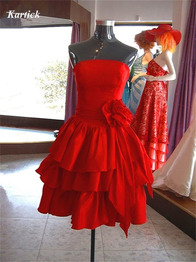 فستان سهرة قصير وأنيق ، بدون حمالات ، للنساء ، مجموعة جديدة ، 2020