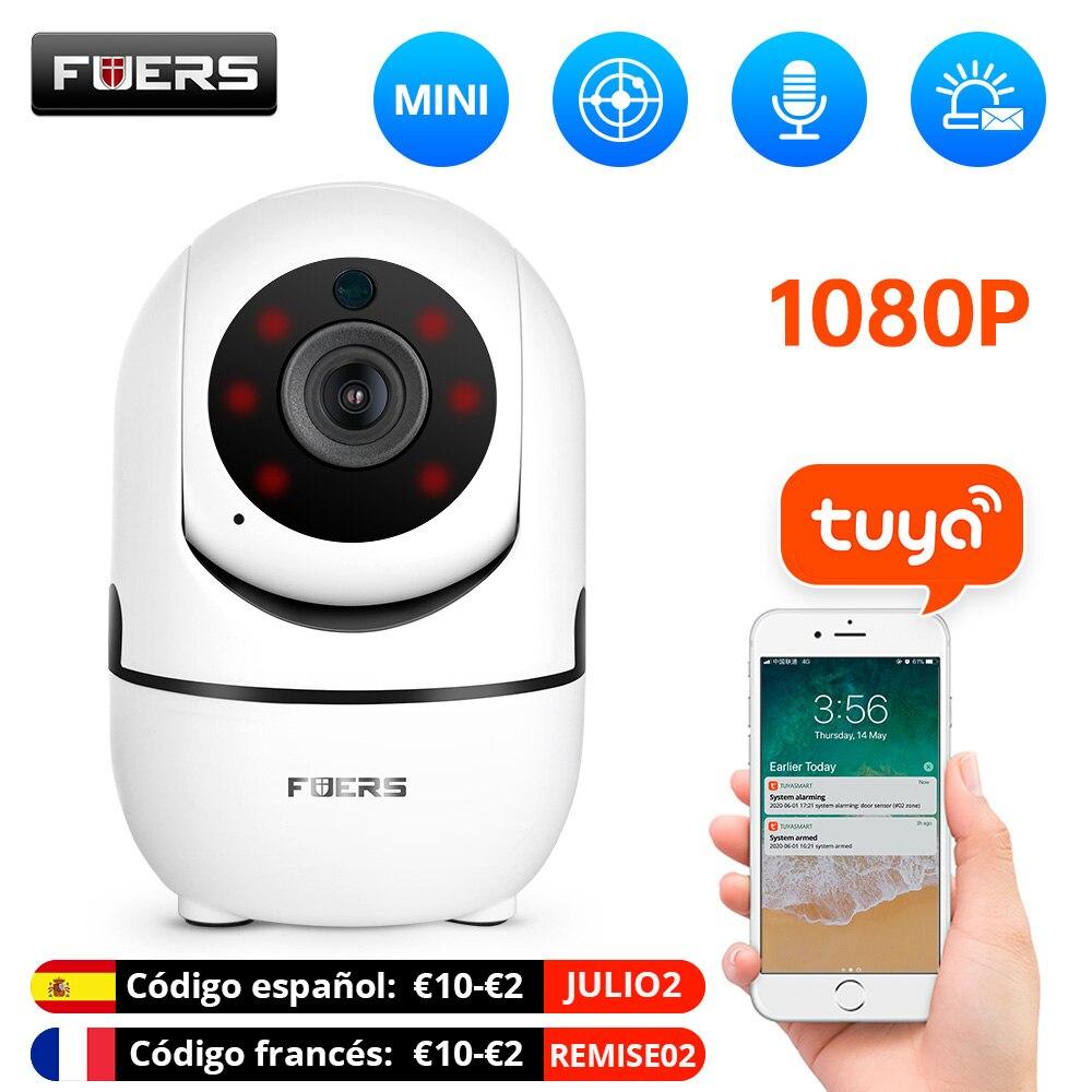 كاميرا Fuers 1080P IP كاميرا Tuya ذكية أوتوماتيكية لتتبع أمن الوطن كاميرا مراقبة داخلية مزودة بخاصية WiFi كاميرا لاسلكية لمراقبة الأطفال