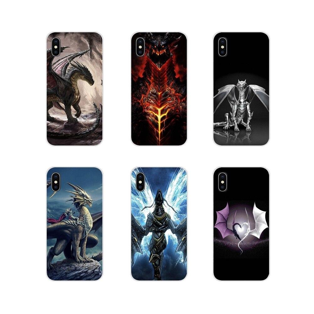 De silicona suave TPU caso dragón edad juegos cartel para HTC uno U11 U12 X9 M7 M8 A9 M9 M10 E9 más deseo 630, 530, 626, 628, 816, 820, 830