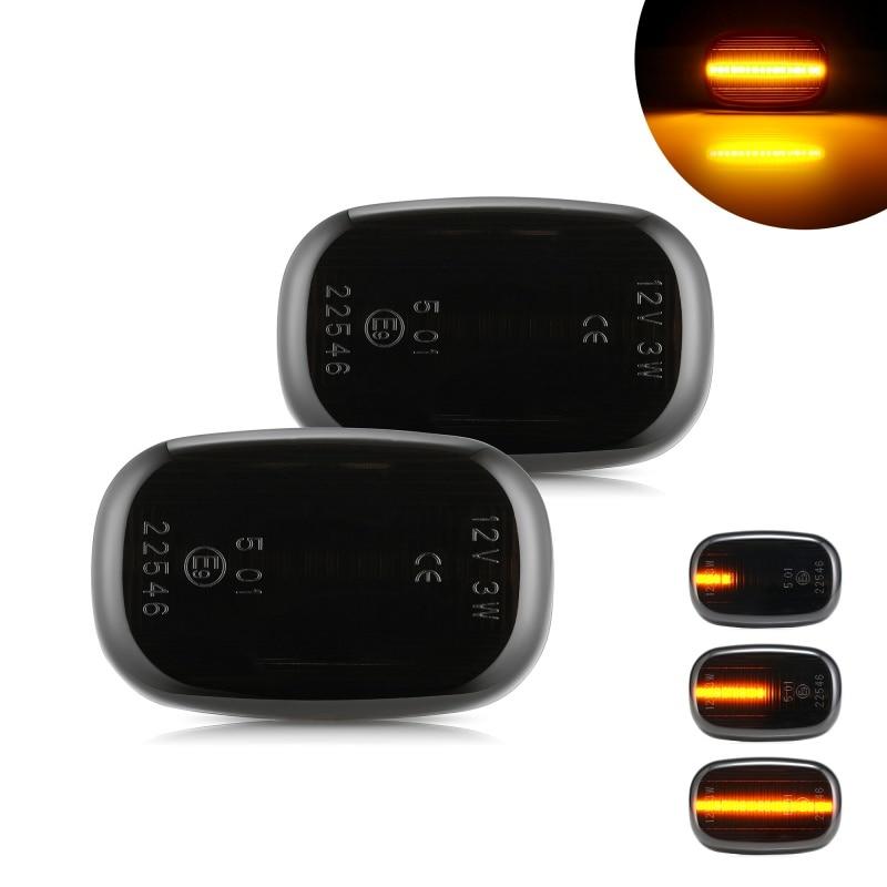 2pcs Led דינמי צד מרקר הפעל אות אור לקסוס GS 300 JSZ147 RX XU1 RX 300 MCU15 RX 300/330/350/400h MCU3/GSU3/MHU3