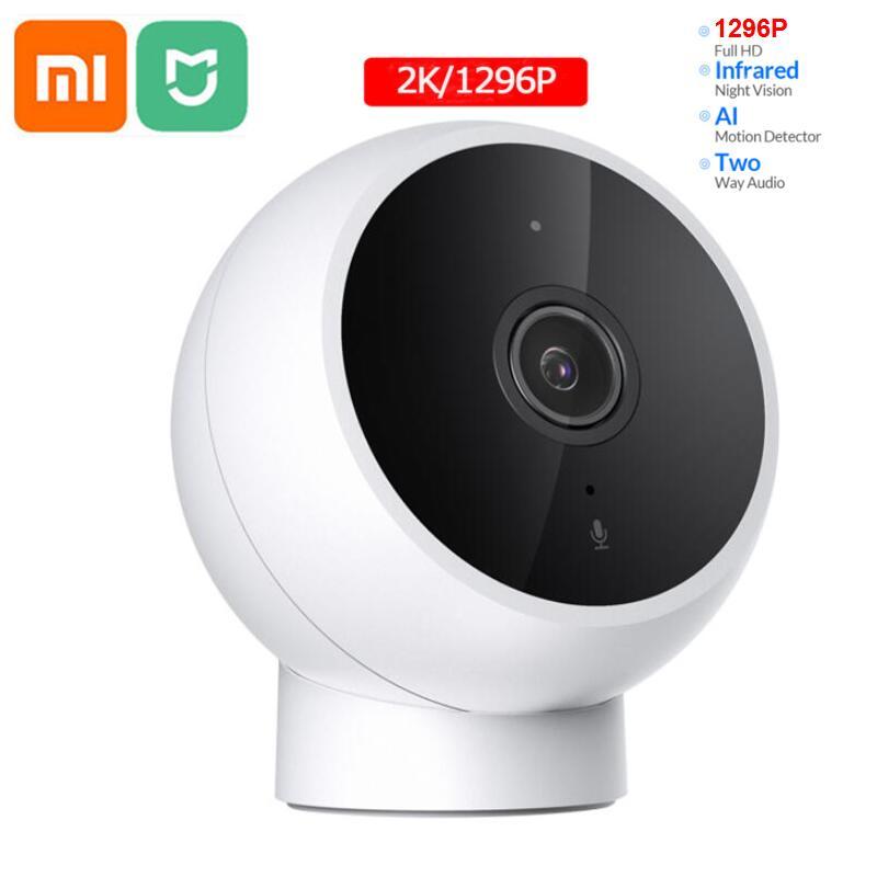 Xiaomi mijia بالنيابة الذكية IP كاميرا 2K كاميرا فيديو كامل HD جودة الأشعة تحت الحمراء للرؤية الليلية الأمن رصد زاوية واسعة للماء
