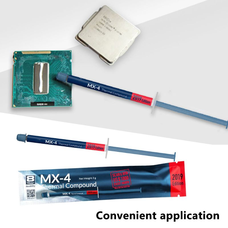 MX-4 2g 4g 8g 20g Grease Thermal Paste Professional Compound for intel Processor