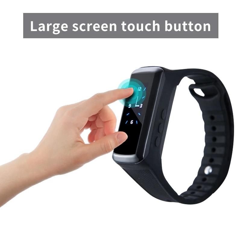 HD 1080P Camcorder Smart Bracelet Camera Mini secret Camera Wristband Wearable Device Bracelet Cam Cam DVR voice video recorder