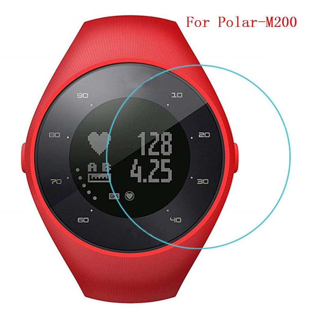 1/3 protectores de pantalla de vidrio templado Ultra transparente para Polar M200, correa para reloj inteligente, accesorios, funda protectora M 200