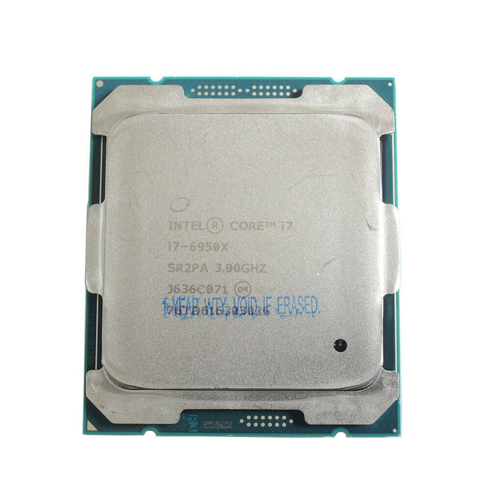 I7 6950X Intel Core i7-6950X SR2PA Processor Extreme Edition 3.0GHz 10 Cores 20 Threads LGA2011-v3 DIY X99 MB  i7 6950X