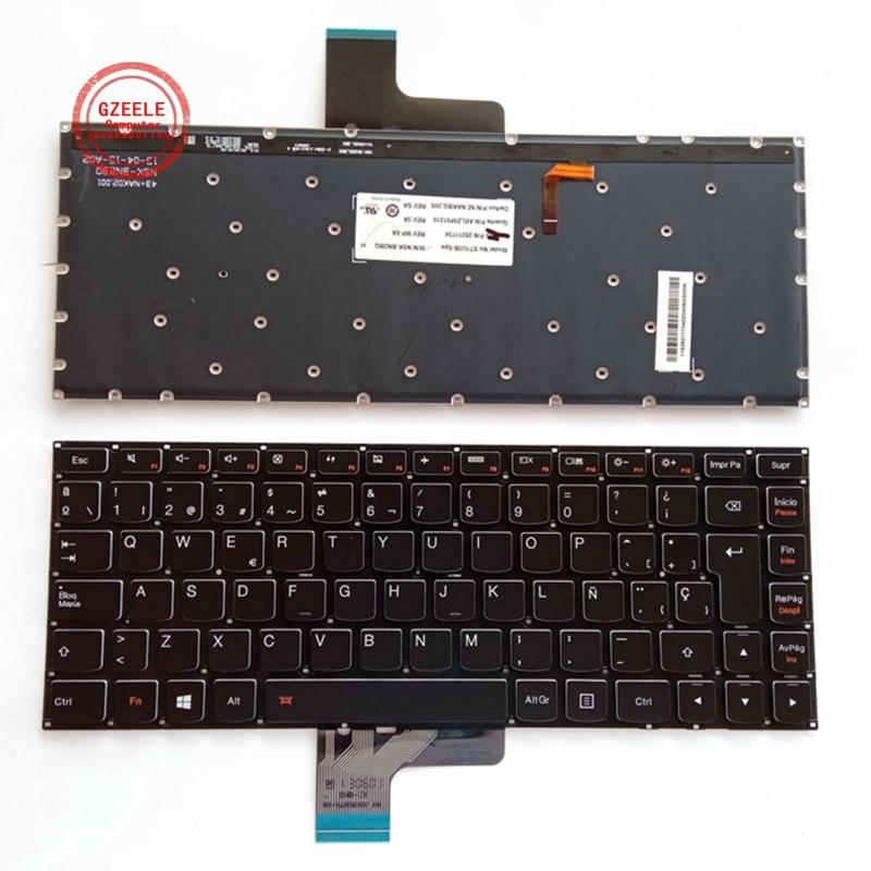 SP لوحة المفاتيح لينوفو ideapad U430 U430P U330 U330P U330T الخلفية