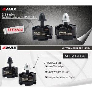EMAX MT2204-2300KV CW CCW бесщеточный двигатель для радиоуправляемого дрона QAV250