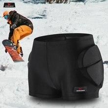 WOSAWE Children Motorcycle Pants Outdoor Sports Skiing Shorts Hip Pad Protector Armor Ski Snowboard Skate Pants Motor Shorts