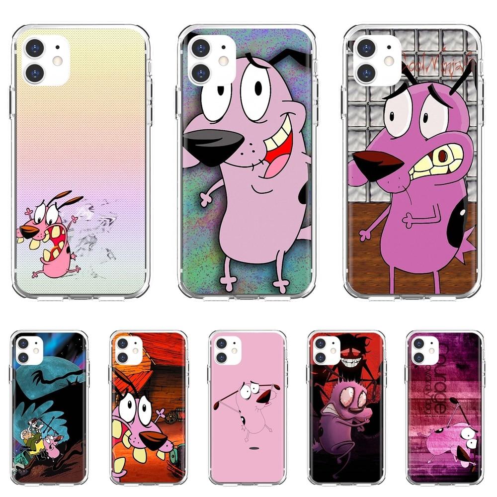 For Xiaomi Redmi 2 S2 3 3S 4 4A 5 5A 5 6 6A 7A 9 9T 9C 9A Pro Pocophone F1 Cartoon-Courage-The-Cowar