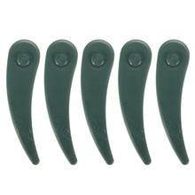 10/25/50/100 pièces en plastique remplacement herbe Strimmer Dura lames de tondeuse à gazon pour BOSCH ART 23-18 LI