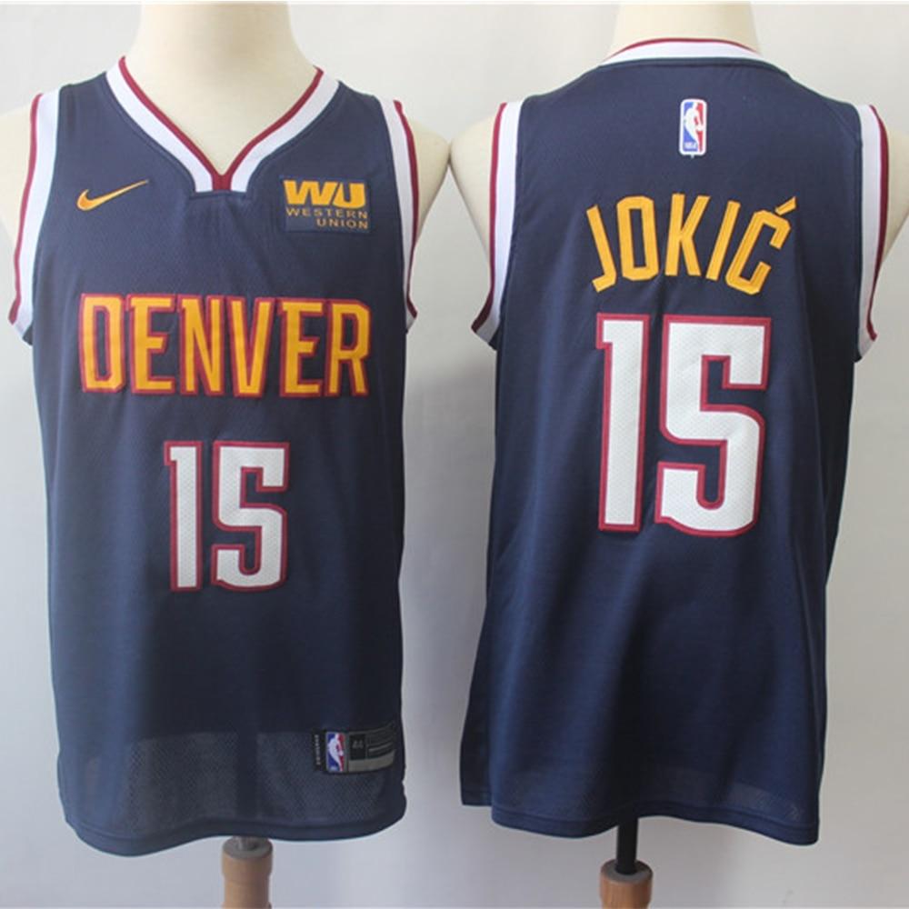 Camiseta de baloncesto de la NBA para hombre, Jersey de Denver Nugget...