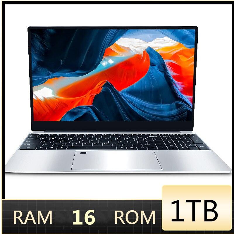 RAM 16GB 1TB SSD Ultrabook Metal Computer 2.4G/5.0G Bluetooth AMD Ryzen R3  2300U windows 10 Pro Metal portable gaming laptop