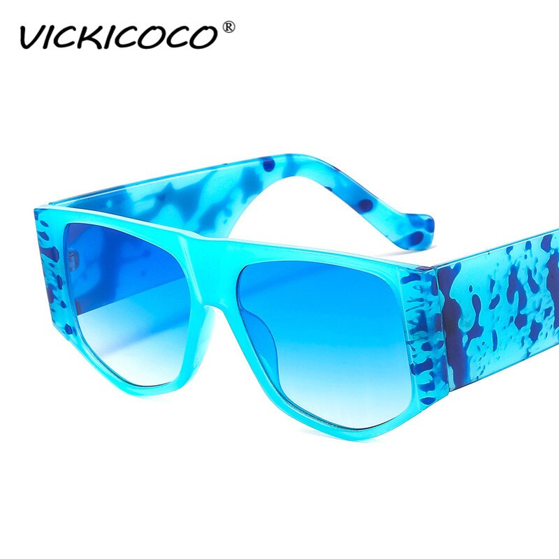 New Vintage Punk Square Women Sunglasses Ins Popular Fashion Blue Light Eyewear Men Trending Cat Eye