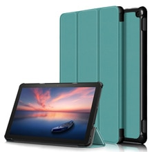 Case for All-New Kindle Fire HD 10 2021, Slim Lightweight Tri-fold Shell Multi-Angle Stand Cover for