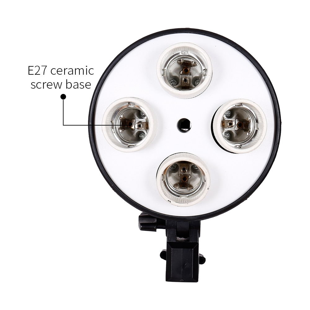 SH Photography Softbox Lighting Kit,Photo Studio Light Box Kit,Continuous Shooting Light Lamp Soft Box With E27 Base Accessories enlarge