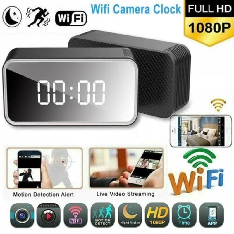 HD واي فاي على مدار الساعة كاميرا مراقبة أي بي H13 1080P كاميرا صغيرة الصوت مسجل فيديو أمن الوطن كاميرا للرؤية الليلية كشف الحركة مايكرو كام
