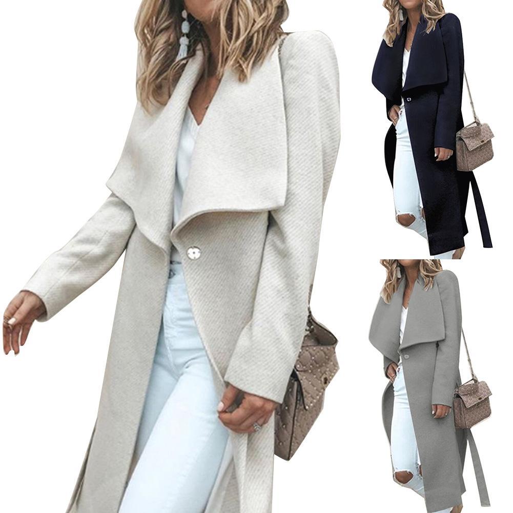 Cappotto donna preto rosa plissado quente inverno casaco feminino turndown longo gola casaco casaco feminino casual outono outerwear abrigo