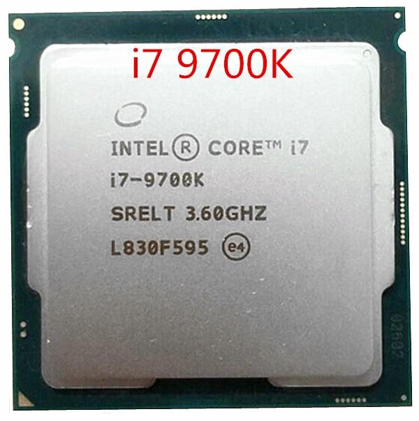 Процессор Intel Core i7-9700K i7 9700K 8 ядер до 3,6 GHz 300 Series 95W для настольных ПК