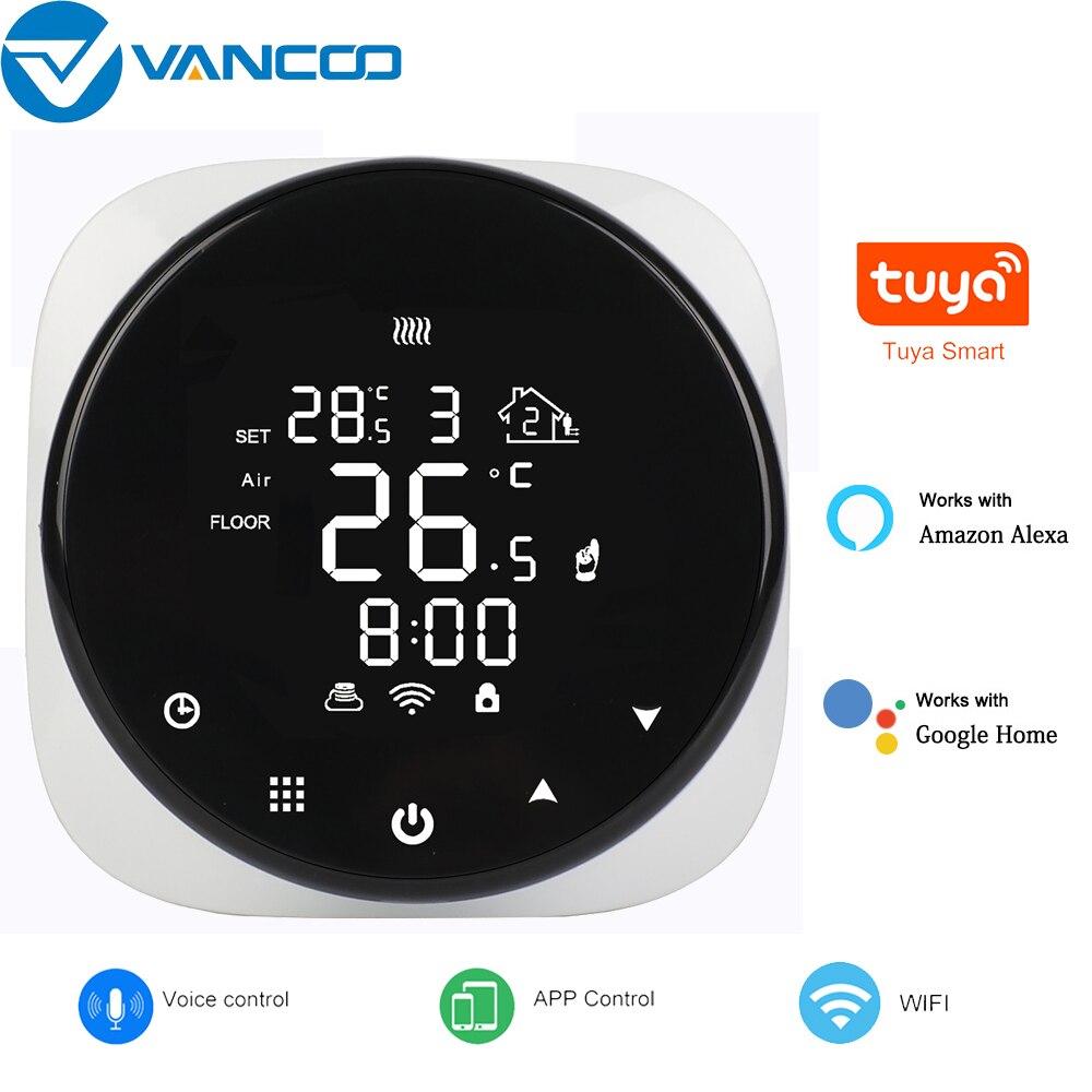 Tuya الذكية واي فاي ترموستات تحكم في درجة الحرارة للمياه/التدفئة الكهربائية الكلمة/المياه الغاز المرجل يعمل مع أليكسا جوجل المنزل