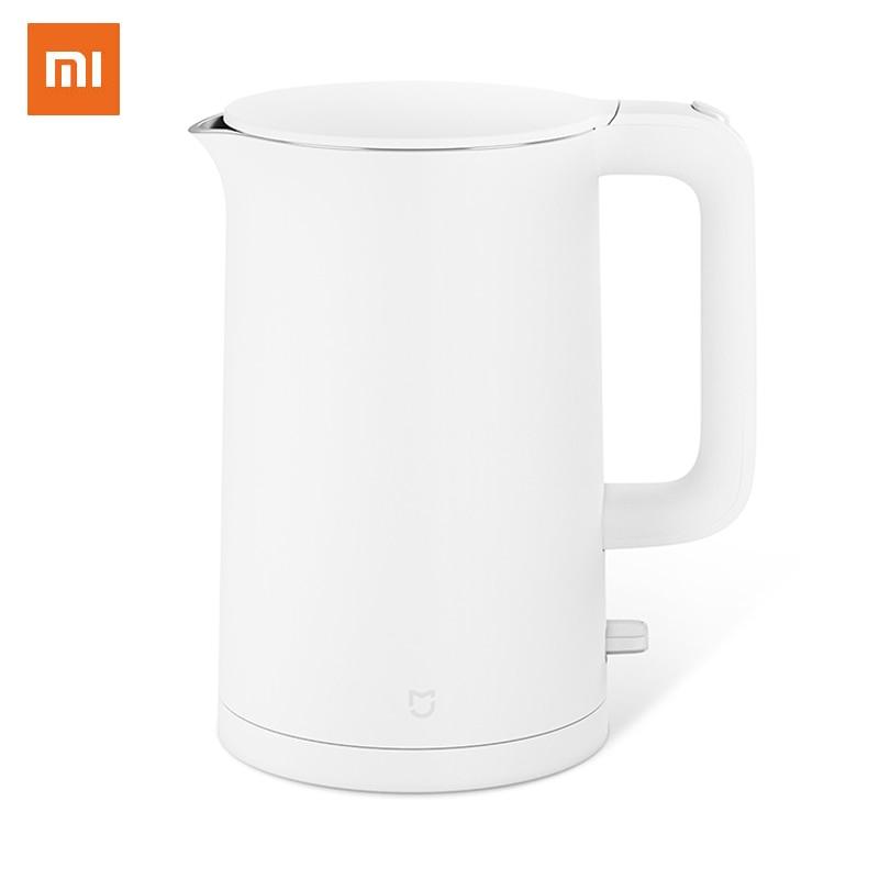 Xiaomi Mijia-غلاية كهربائية ، إبريق شاي من الفولاذ المقاوم للصدأ 304 ، غلاية مياه منزلية ، Samovar LED ، مقاوم للحرق ، 1 ، 5 لتر