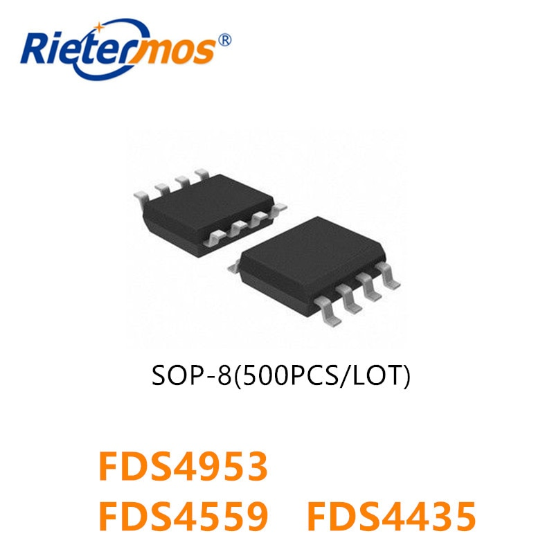 500PCS FDS4953 FDS4559 FDS4435 FDS4435BZ 4953 4559 4435 SOP8 HIGH QUALITY