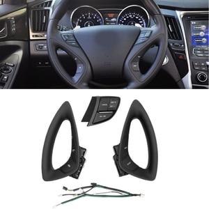 Original for 2011 2013 2014 Hyundai I45 Sonata YF multi-function steering wheel button switch cruise control