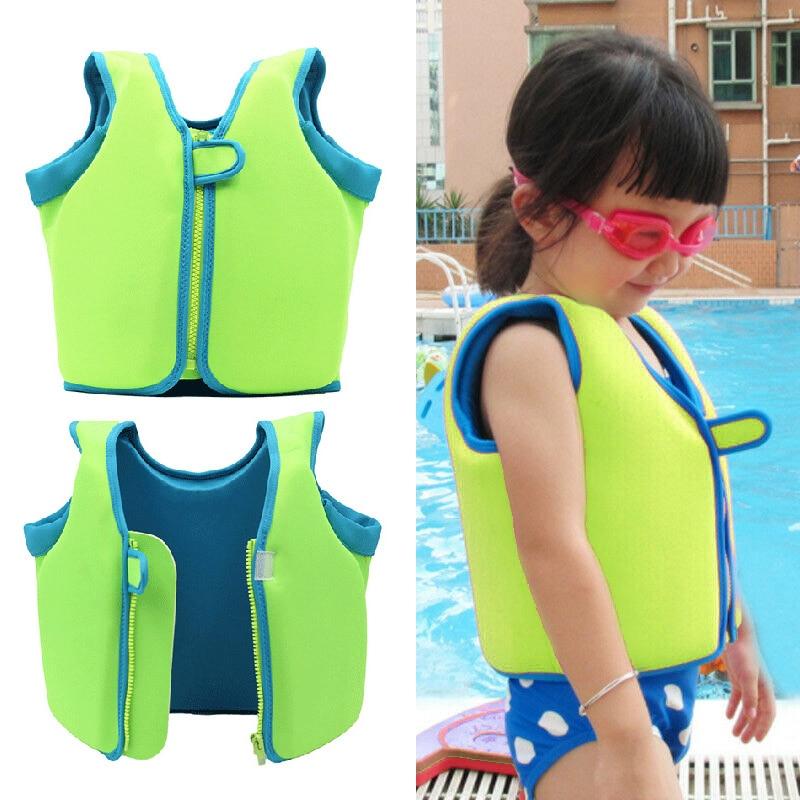 Professional Kids Floating Swim Aid Vest Life Jacket Buoyancy Life Vest Swimming Boating Safety High Quality Durable