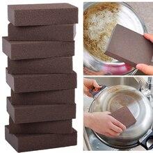 1 adet temizlik sünger sihirli silgi pas çıkarmak için temizlik pamuk mutfak alet aksesuarları kireç çözücü temiz ovmak