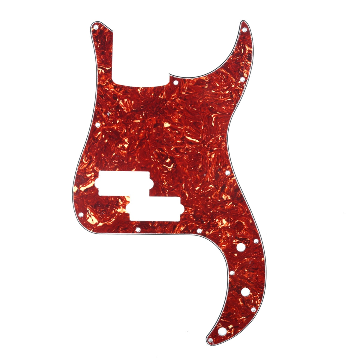Musiclirio 13 agujero P bajo Pickguard para Fender Americano/mexicano estándar de precisión...