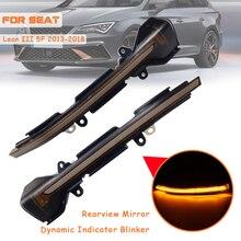 Für SEAT Leon III Mk3 5F 13-18 Mk5 V Arona 17-18 LED Dynamische Blinker Licht flasher Fließende Wasser Blinker Blinklicht