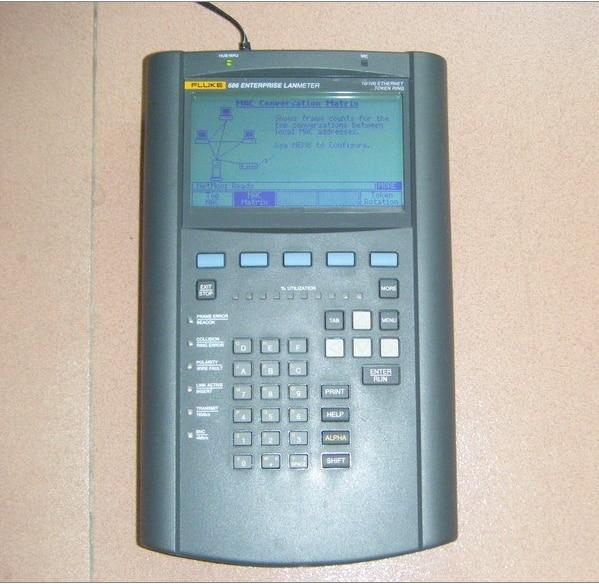 Подержанный Fluke F686 тестер сети предприятия/FLUKE 686 LANMETER