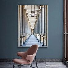 Karlovy varier Colonnade mur Art toile peinture nordique affiches et impressions classique bâtiment mur photos pour salon décor