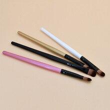 Professional Eyeshadow Brush Small Angled Eyebrow Brush Brow Contour Brush Fine Eyeliner Brush Makeu