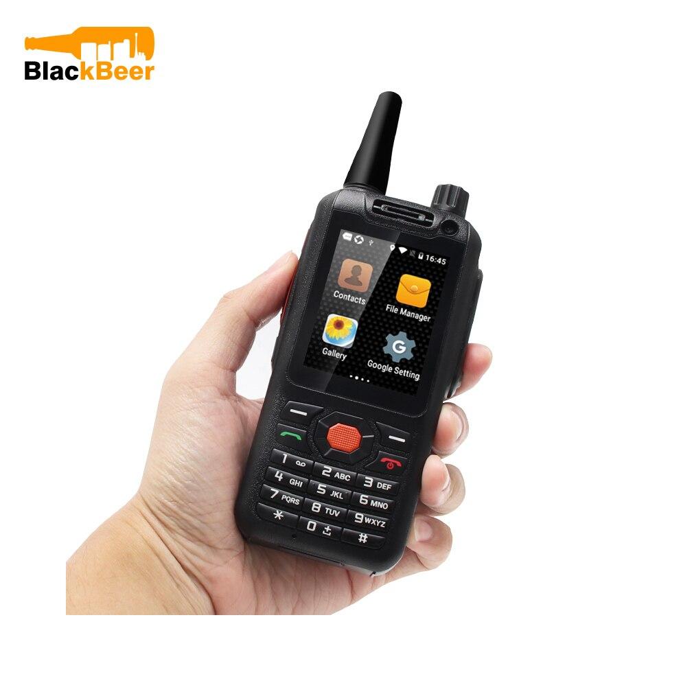 UNIWA F25 Zello Walkie Talkie Mobile Phone 1GB+8GB WCDME/LTE Cellphone Quad Core PoC Radio Smartphone Android 7.1 3500mAh GPS