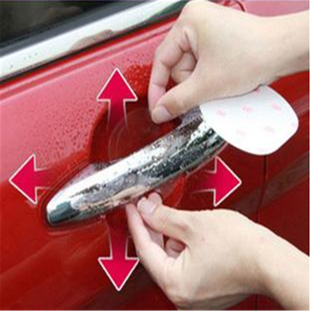 4Pcs/Set Car Handle Protection Film for BMW E91 E92 E88 1M F20 F21 X6 X6M E46 E90 F15 X5M E71