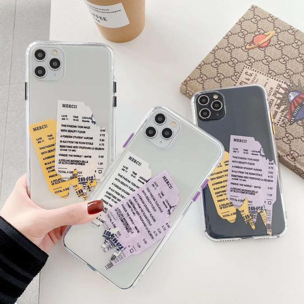 Casetify Корея INS этикетка чехол для iphone 11 Pro Max Мягкий силиконовый чехол с надписью для iphone XR XS MAX 7 8 plus анти-осенний чехол funda