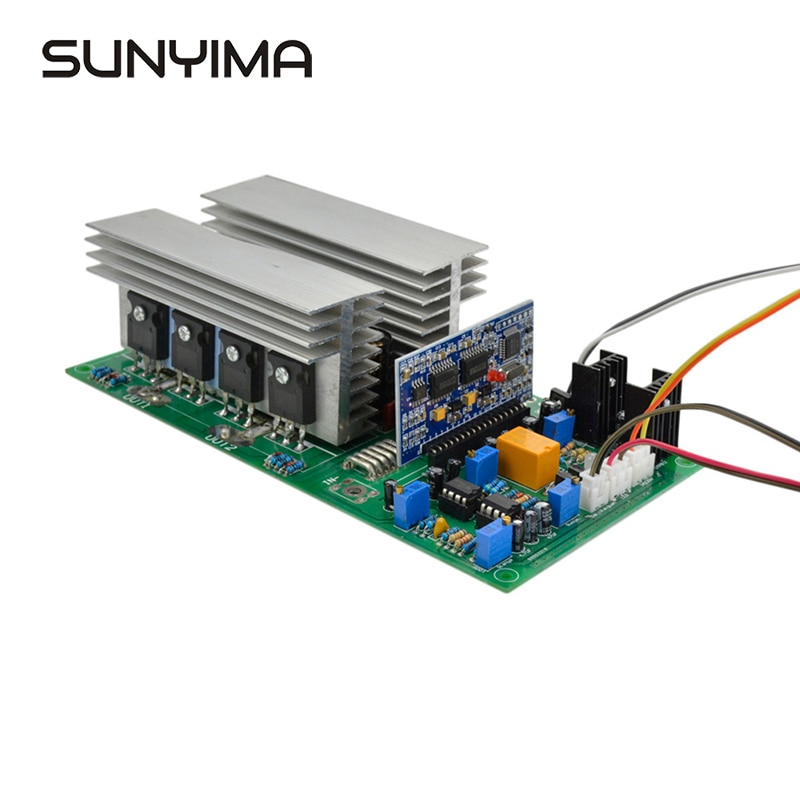 SUNYIMA чистая Синусоидальная волна высокая мощность Инвертор трансформатор постоянного тока 12 В 24 в 36 в 48 в 60 в 1000/2000/2800/3600/4000 Вт готовая доска