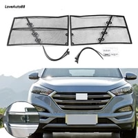 for hyundai tucson 2015 2016 2017 2018 car insect screening mesh front grille insert net front insect screening mesh net grille